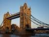Tower Bridge bei Sonnenuntergang