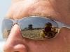 Reflexionen in der Brille