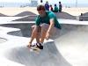 Skateboarder am Venice Beach