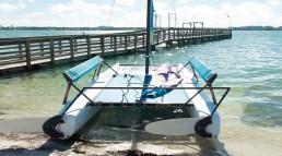 Segeln lernen mit Ian in Clearwater Beach (Florida)